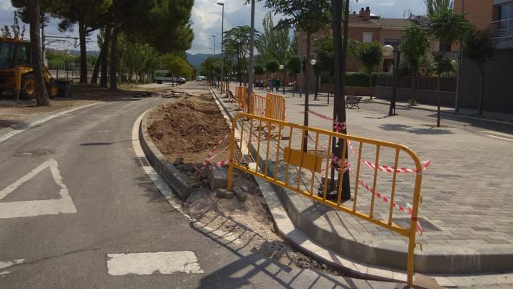 |AVÍS| A partir d'aquest dijous, els vehicles tindran accés restringit al passeig de la Indústria, afectat per obres