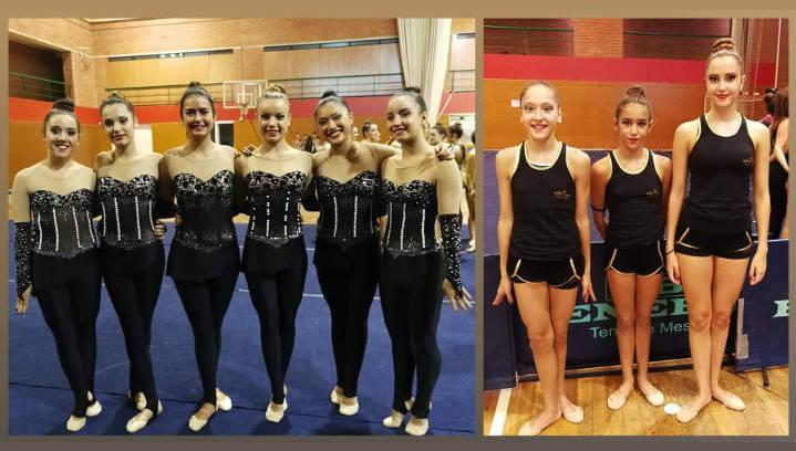 El conjunt cadet del Club Gimnàstic Ballerina es classifica per al Campionat d'Espanya