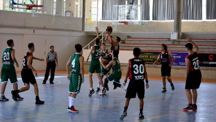 El Bàsquet Endavant defensa els colors vilanovins amb tres equips en la seva 8a temporada