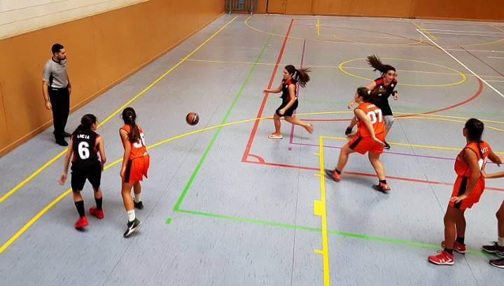 Segon partit i segona derrota ajustada de l'equip júnior femení del Bàsquet Endavant