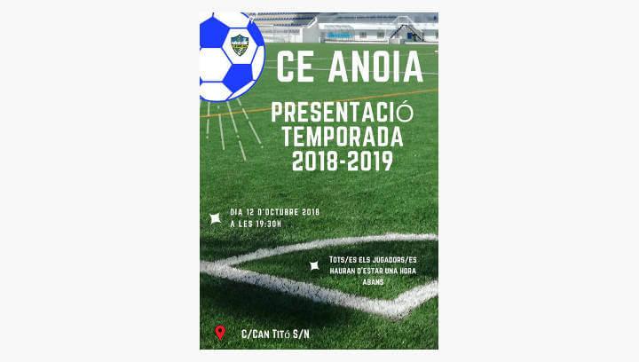 El CE Anoia presenta divendres, una temporada que promet ser reivindicativa en identitat i gènere