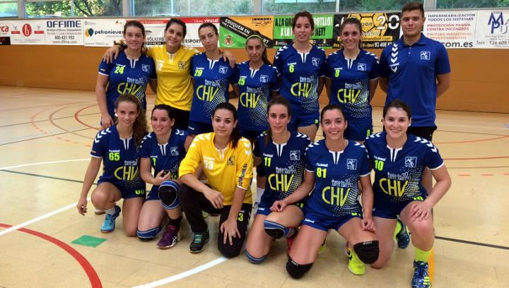 L'equip sènior del CH Vilanova suma la segona victòria i és líder a 1a Catalana