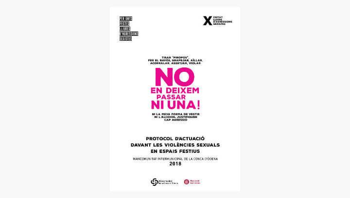 Els municipis de la MICOD aproven el Protocol davant les violències sexual en espais festius de la Conca d'Òdena