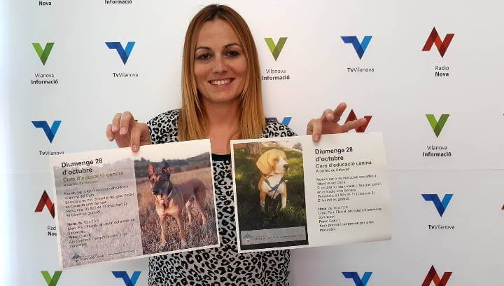 Vilanova organitza un curs d'educació canina amb sorpreses i premis per a les mascotes