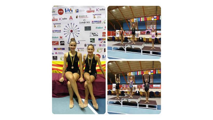 Èxit del Club Gimnàstic Ballerina al XX Trofeo Virgen del Pilar, a Saragossa
