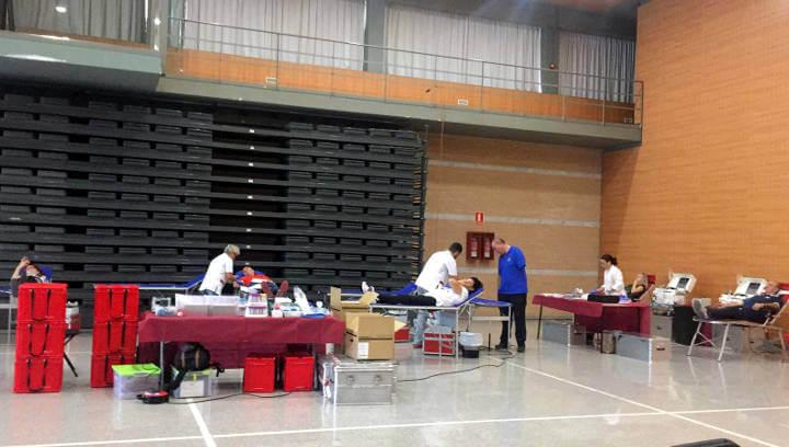 El nou acapte del Banc de Sang a Vilanova del Camí suma 28 donants de sang i 7 de plasma