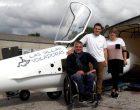 Un centenar de persones discapacitades podran gaudir del plaer de volar a l'aeròdrom d'Igualada-Òdena | ÀUDIO i FOTOS