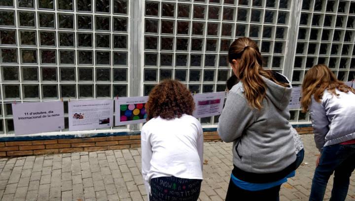 L'Espai Jove commemora el Dia Internacional de la Nena amb una exposició sobre la discriminació que pateixen les nenes arreu del món