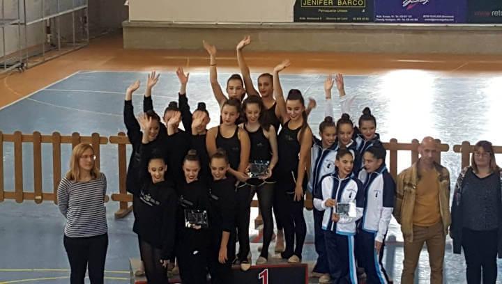 Gran èxit i originalitat al Vè Trofeu de Halloween del CG Ballerina a Vilanova del Camí