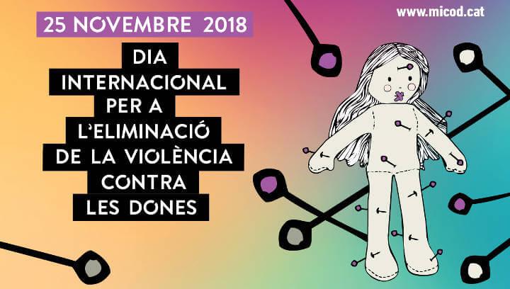 Una agenda d'actes entorn el 25N per identificar, prevenir i actuar davant les violències masclistes
