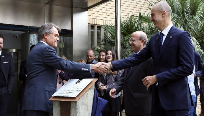 Artur Mas presideix un dels darrers actes commemoratius del 50è aniversari de B-Grup a la seu central de Vilanova del Camí