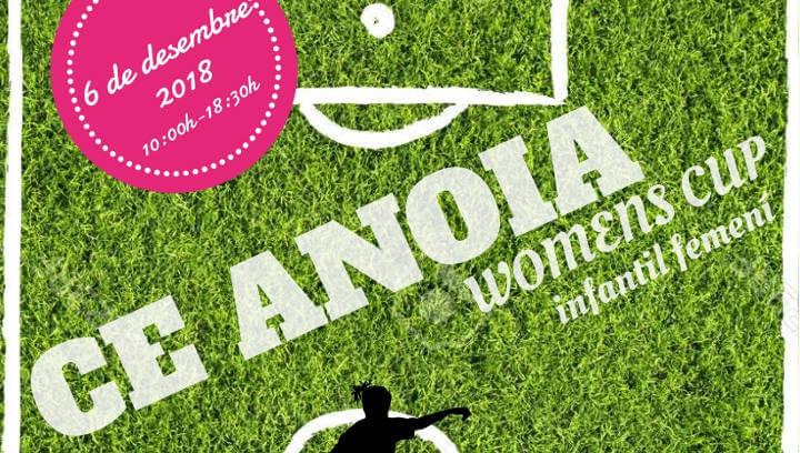 El 6 de desembre el futbol té una cita a Can Titó amb el Primer Trofeu de Futbol Femení del CE Anoia