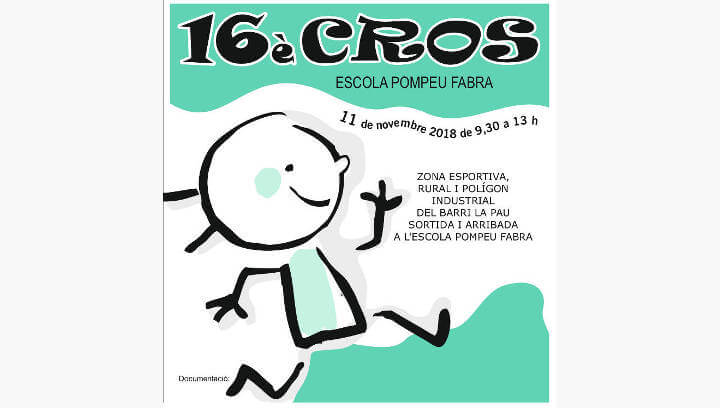 El Cross Pompeu Fabra convoca els infants de Vilanova i comarca el pròxim diumenge