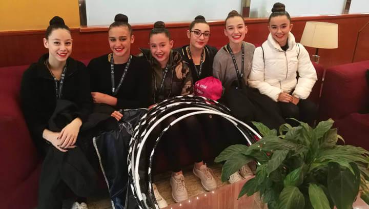 Excel·lent Campionat d'Espanya de Gimnàstica Rítmica del CG Ballerina