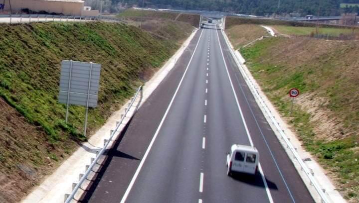 L'accés pendent de la Ronda Sud a Vilanova del Camí, l'any vinent