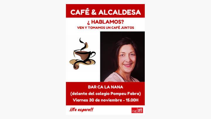 """Noemí Trucharte enceta aquesta tarda """"Cafè i alcaldessa"""" una proposta per intercanviar impressions amb la ciutadania"""