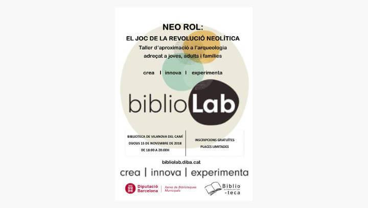 Un joc sobre la revolució neolítica per a tota la família, en la tercera sessió  BiblioLab