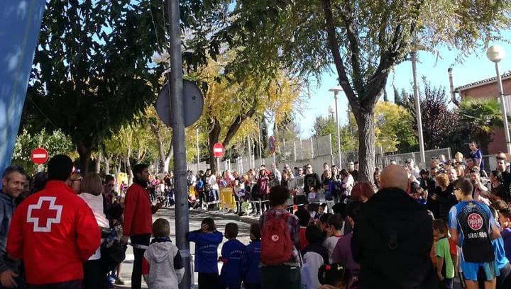 Prop de 300 participants al Cros Pompeu Fabra que obria el Campionat Escolar d'enguany