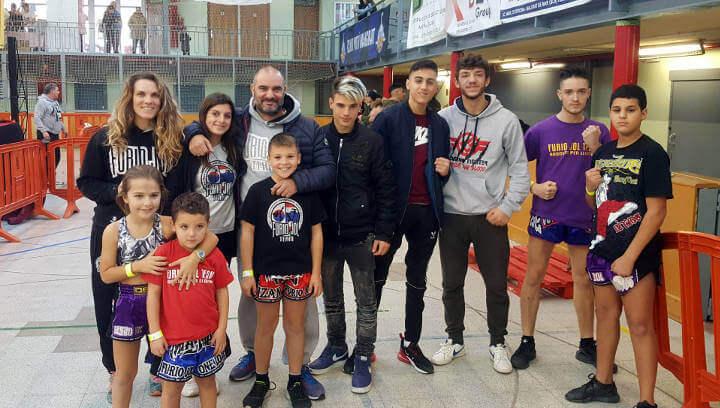 El Furio Jol Vilanova ja té 9 esportistes classificats per optar als Campionats d'Espanya de Muay Thai