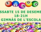 L'AMPA Joan Maragall anima les famílies a compartir una tarda de diversió i col·laboració tot jugant al bingo