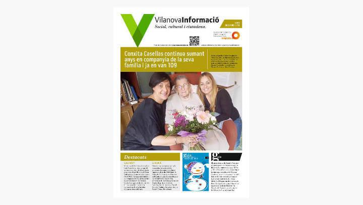 BUTLLETÍ Vilanova Informació n.281 Desembre 2018