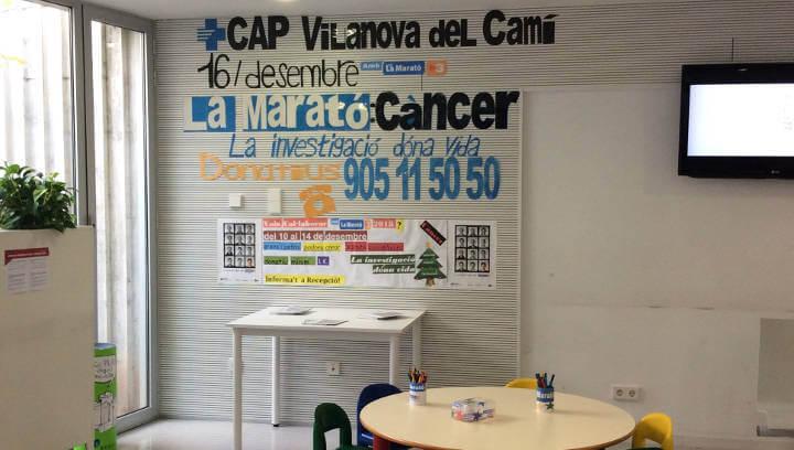 Les xapes solidàries del CAP sumen 600 € per a la Marató de TV3 | ÀUDIO