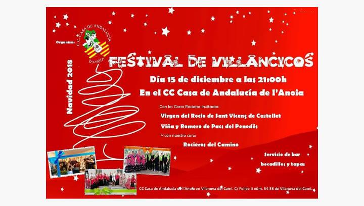 La seu de la casa d'Andalusia s'omplirà de música nadalenca amb el tradicional Festival de Villancicos