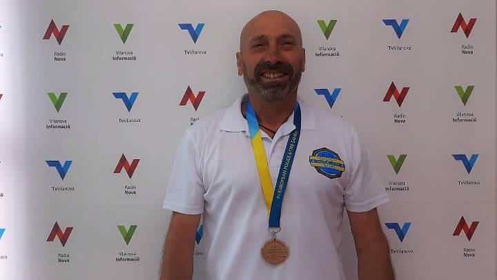 Luis Alejandro Matamoros continua sumant ors al seu palmarès en els Jocs Europeus de Policies i Bombers