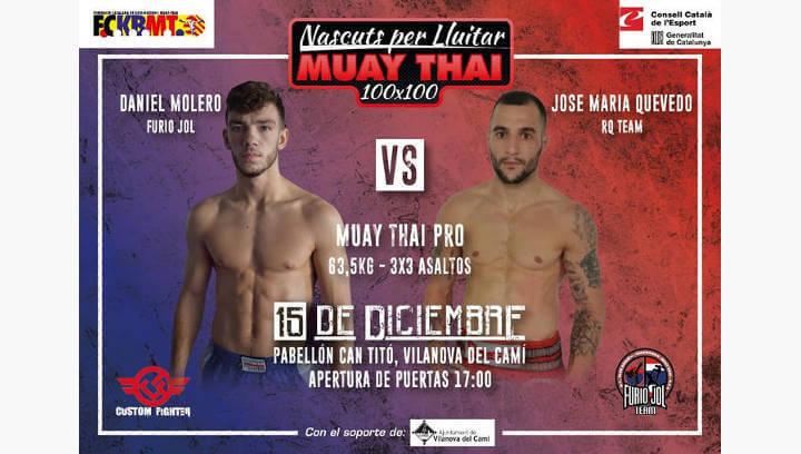 Una tarda de Muay Thai en estat pur a Can Titó de la mà del Furio Jol Vilanova