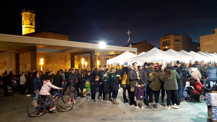 La Fira de Nadal es consolida i atrau un nombrós públic gràcies a l'oferta comercial i lúdica | ÀUDIO i FOTOS