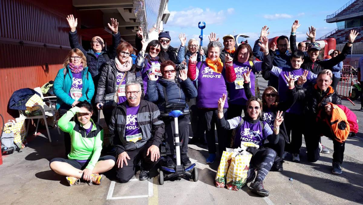 L'AEMA agraeix l'acompanyament en la 19a edició del 'Mou-te per l'Esclerosi Múltiple' al circuit de Barcelona | VÍDEO