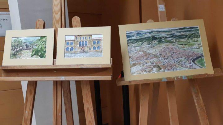 Exposicio Illustracions llibre Tracos un poble 3