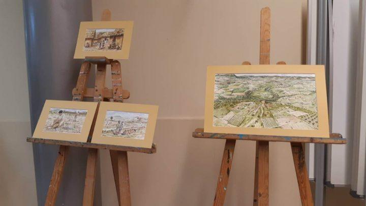 Exposicio Illustracions llibre Tracos un poble 5