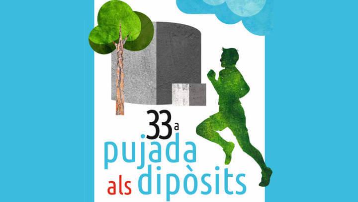 La 33a Pujada als dipòsits obrirà el calendari esportiu vilanoví del 2019