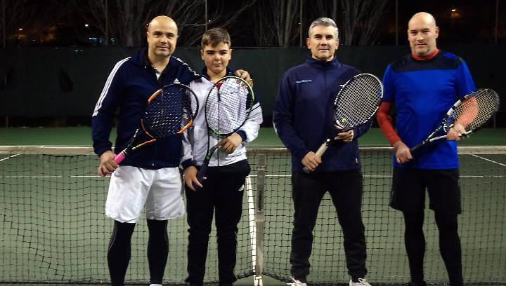La parella Cañizares guanya el Campionat de dobles del Club Tennis Vilanova del Camí