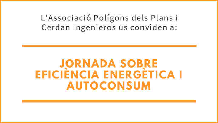 Polígons dels Plans convida als seus associats a sumar-se a l'eficiència energètica i l'autoconsum fotovoltaic