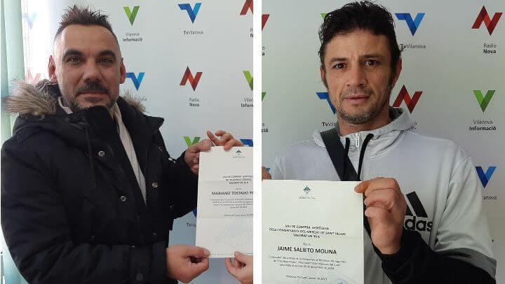 Vilanova Comerç i el Mercat de Sant Hilari premien la solidaritat del veïnat en la recollida de joguines de Creu Roja