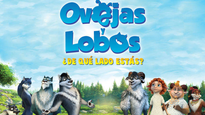 Aquest diumenge, cinema familiar a Can Papasseit amb 'Ovejas y lobos'