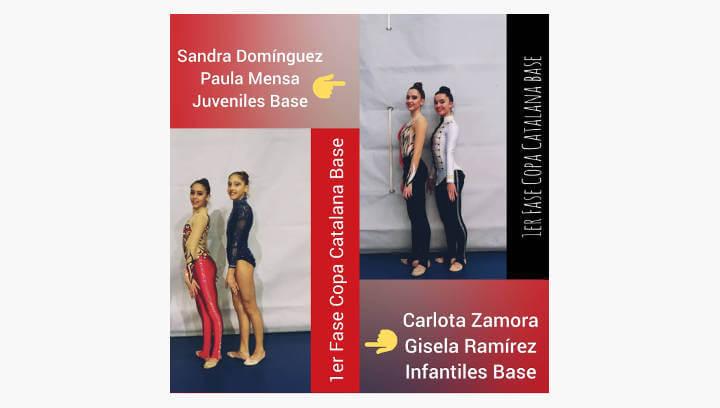 Gran competició del Club Gimnàstic Ballerina a la 1a Fase Copa Catalana Nivell Base Individual i al Trofeu de Roses