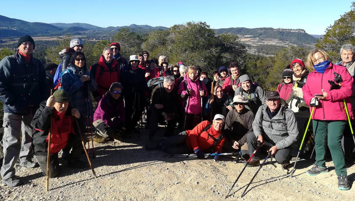 Caminada per la festa de Sant Hilari amb la Colla Excursionista de Vilanova del Camí