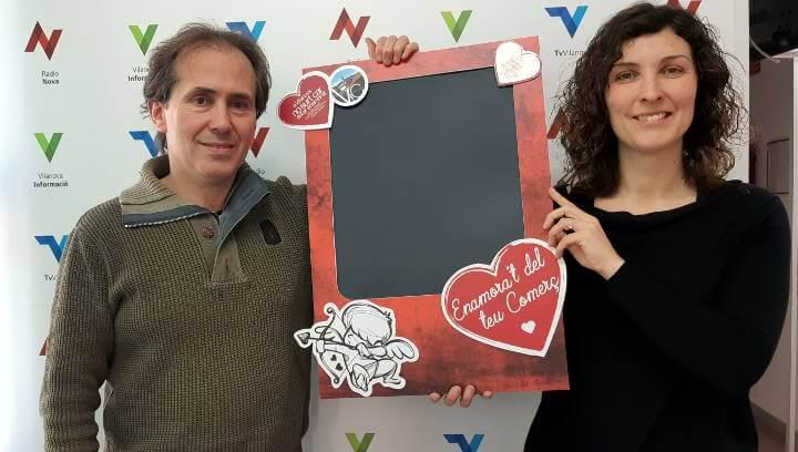 'A Vilanova del Camí no surt car enamorar-se', lema de la nova campanya de Vilanova Comerç | ÀUDIO