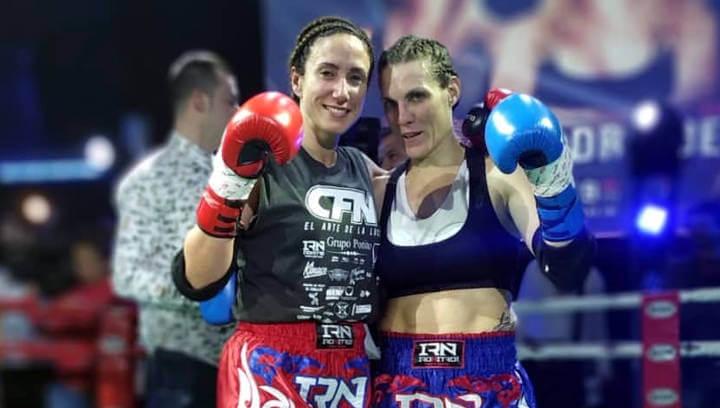Debut professional de Sonia Rodríguez del Furio Jol Vilanova en la vetllada gaditana Fight Night