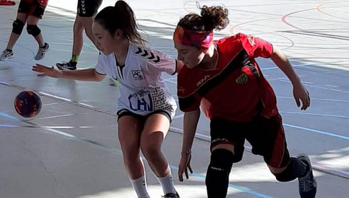 Àmplia victòria de l'equip sènior del CH Vilanova a Polinyà