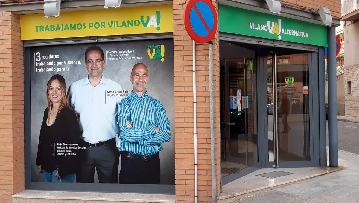 Vilanova Alternativa estrena local social per estar més  a prop de la ciutadania i atendre les seves demandes