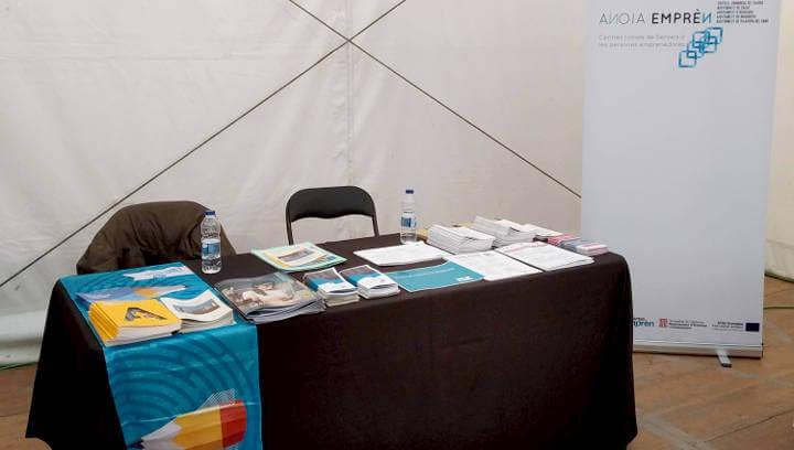 La Xarxa Anoia Emprèn participa per primera vegada a la Fira de l'Ensenyament d'Igualada