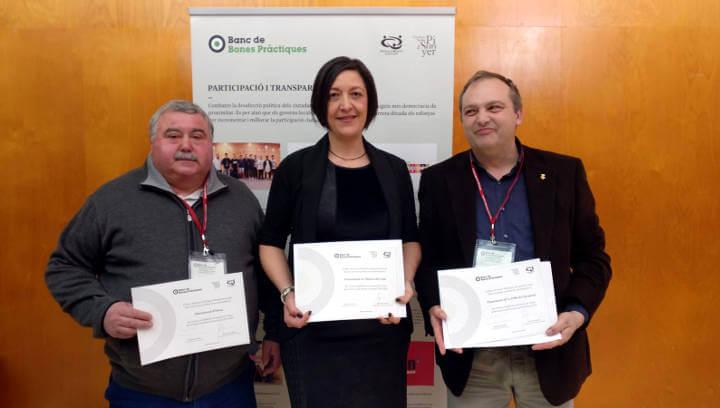 Vilanova rep el reconeixement del Banc de Bones Pràctiques en el marc de la conferència sobre innovació democràtica i govern local