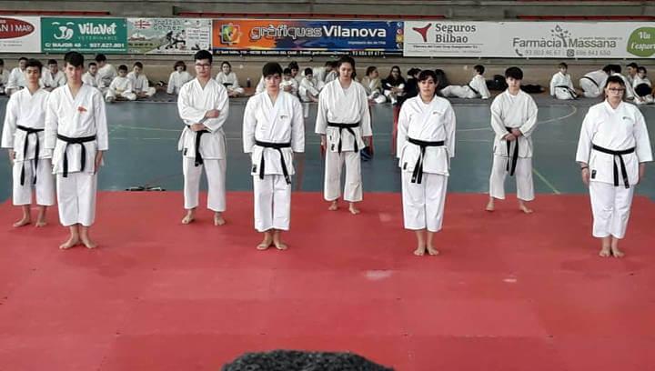 El campionat de kates del Budokan Vilanova destaca pel gran nivell dels participants a totes les categories | ÀUDIO