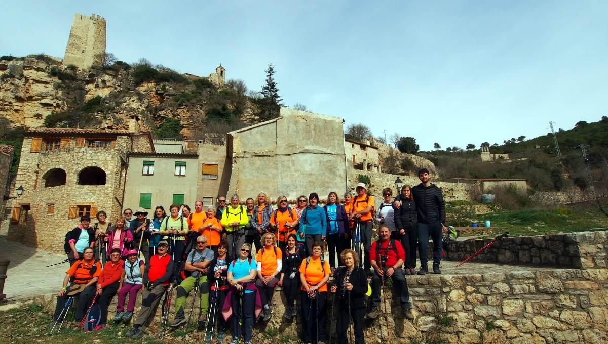 De Querol a Santa Perpètua de Gaià amb la Colla Excursionista de Vilanova del Camí
