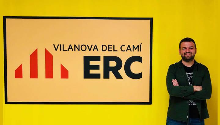 ERC presentarà Marc Bernáldez com a candidat a l'alcaldia de Vilanova i la llista que l'acompanyarà en aquestes municipals