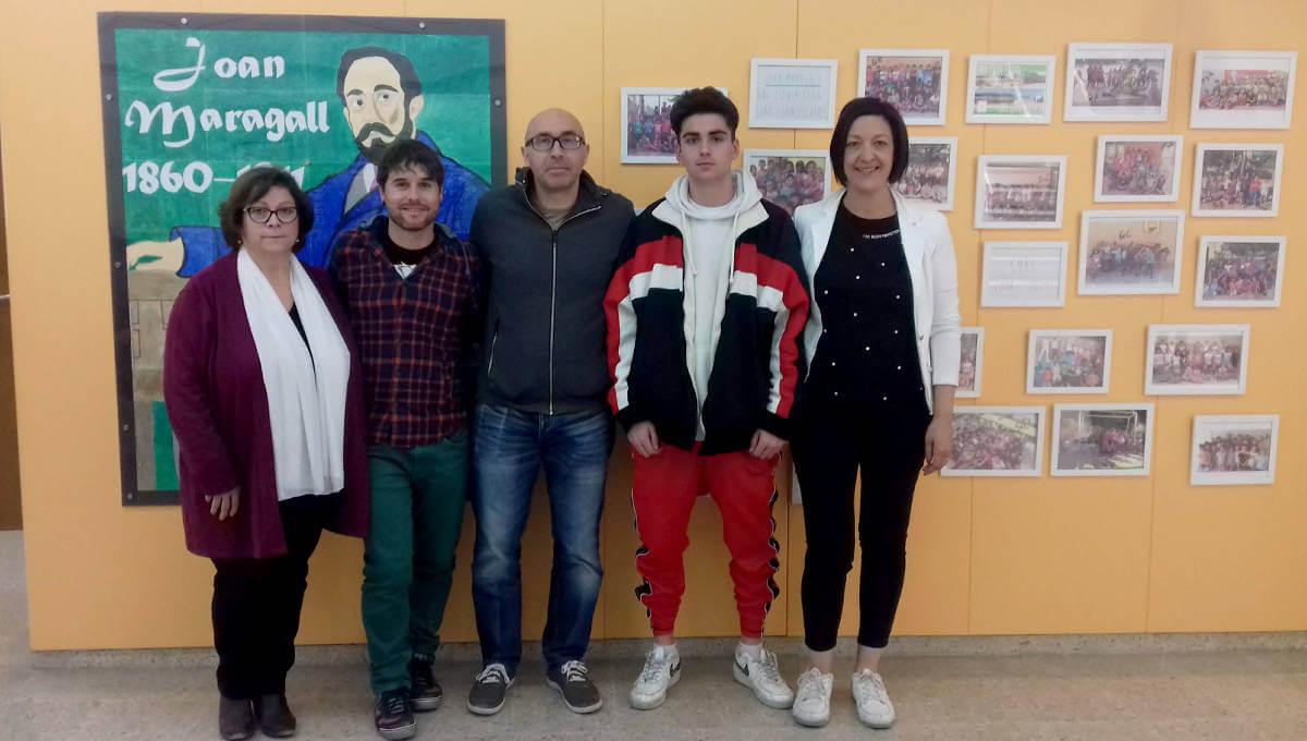 L'Escola Joan Maragall incorpora un alumne en pràctiques del Projecte Morera